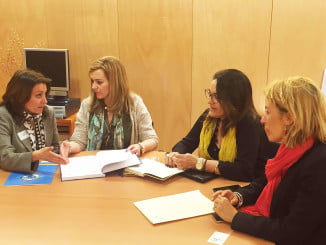 Pepa González Bayo se ha reunido con la Federación Española de Salvamento y Socorrismo