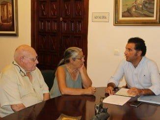 Reunión en el Consistorio  de Moguer con la Asociación del Caballo de Mazagón