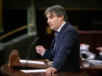 Rubén Moreno, diputado del PP