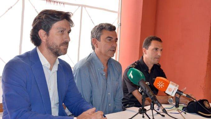 Rueda de prensa para abordar los aspectos de seguridad de la feria taurina de La Merced