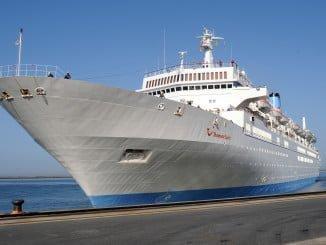 Nuevo escala de crucero este sábado en el Puerto de Huelva.