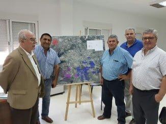 UPA ha mantenido un encuentro con el presidente de la Comunidad de Regantes Andévalo Fronterizo
