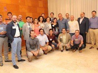 Componentes del Grupo BNI Innovación de Huelva que celebra el cuarto año desde su constitución