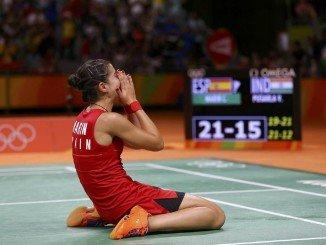 Carolina rompe a llorar en Río tras su última hazaña deportiva