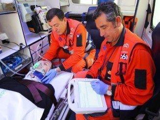 45 profesionales sanitarios que componen el servicio provincial de Emergencias de Huelva