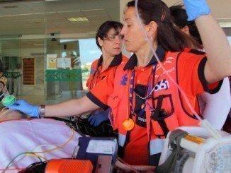 El 061 recibió 323 llamadas de atención sanitaria en la operación salida de agosto en Andalucía