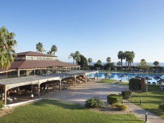 Un hotel en la costa de Huelva, en donde los precios de los hoteles han subido