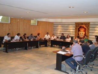 Sesión plenaria de Punta Umbría
