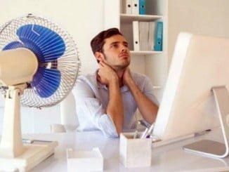 Trabajar con calor disminuye el rendimiento, además de ser peligroso en muchas ocasiones si no se toman medidas