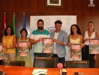 Instantánea de la presentación de la Fashion Weekend que se celebrará en Cartaya