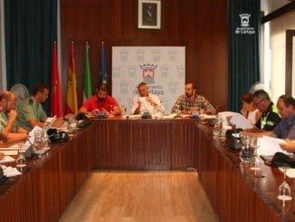 La Junta de Seguridad de Cartaya se reúne para ultimar los detalles previos a la Feria de Octubre