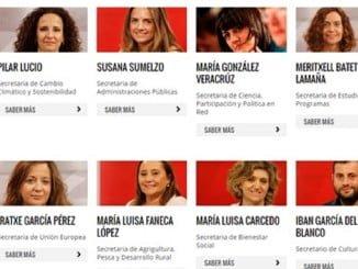 La onubense María Luisa Faneca es el único miembro por Andalucía en la Ejecutiva de Pedro Sánchez que no ha dimitido.