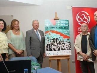 El cartel de esta edición del OCIb es obra de Faustino Rodríguez y Juan Manuel Seisdedos.