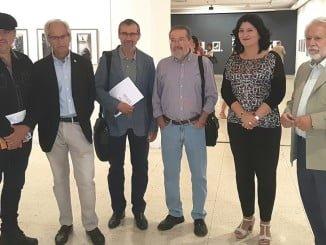 Inaugurada la exposición 'Sin Palabras', dentro del OCIb 16, con dibujos de El Roto y Boligán.
