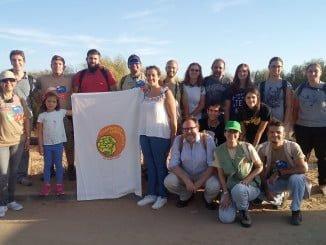 Satisfacción en los miembros de la Acción de Voluntariado Ambiental 'Censo del Camaleón Común en Islantilla' por su recuperación.