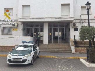La Guardia Civil logro dar con uno de los implicados en el suceso e investiga sobre el segundo