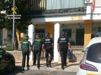 Los agentes de la Guardia Civil y la Policía local de Lepe intensificaron la vigilancia