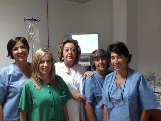 Equipo de ginecología del Complejo Hospitalario de Huelva