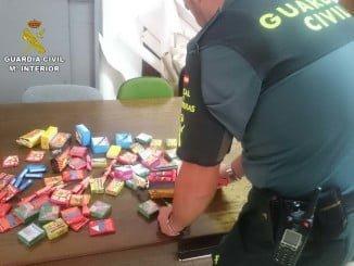 Los artefactos pirotécnicos han sido intervenidos por la Guardia Civil