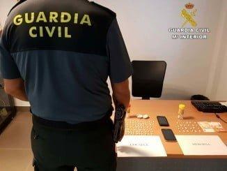 La Guardia Civil ha desarticulado este importantísimo y activo punto de venta de droga en Bollullos