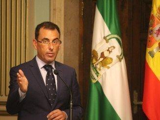 Ángel Sánchez, durante el debate del Estado de la ciudad