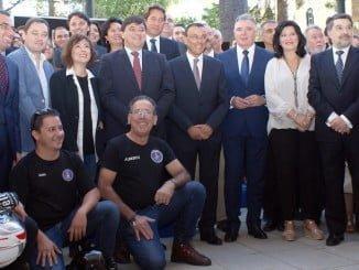 Apoyo institucional completo a la candidatura de Huelva a ser 'Ciudad Gastronómica' en el 2017.