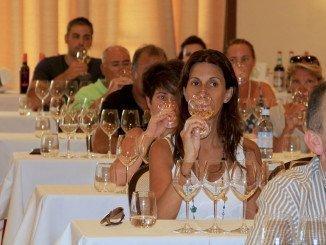 Una de las Catas Dirigidas incluidas en la promoción de la Ruta del Vino