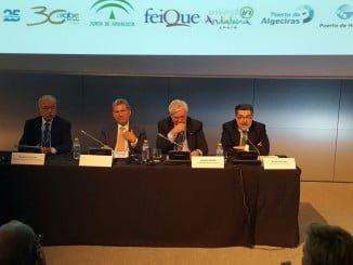 Instantánea de la clausura de la jornada Invest in Chemicals EuCheMS, en la que ha intervenido Baerero