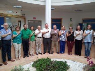 El delegado de Salud ha asitido a un encuentro con usuarios  y familiares de AFA Huelva