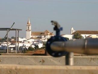 Estación depuradora de aguas residuales de Gibraleón