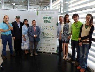 Presentación del I Encuentro Iberoamericano de Turismo Rural.