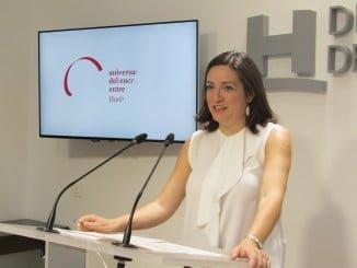 Aurora Vélez presenta en la Diputación  la Memoria 2015