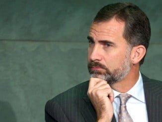 Felipe VI no esconde su preocupación por la situación que atraviesa España