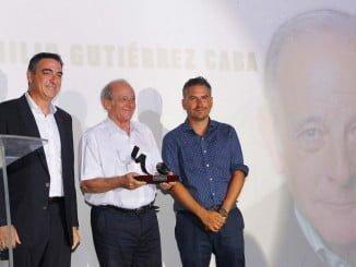 Emilio Gutiérrez Caba tras recibir el Premio 'Luis Ciges'