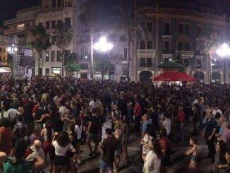 El Festival de Jazz en la Plaza de Las Monjas ha tenido gran éxito de asistencia