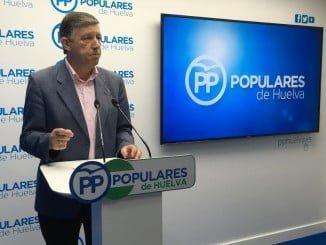 Carmelo Romero asegura que Pedro Sánchez está paralizando las inversiones y proyectos para Huelva al negarse a negociar para formar Gobierno