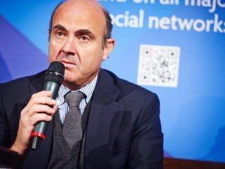 El ministro de Economía Luis de Guindos