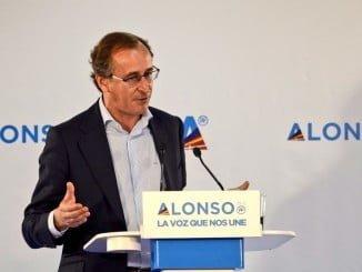 Alfonso Alonso recibió´el apoyo de los presidentes autonómicos del PP.