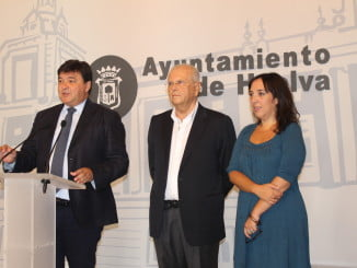 Gabriel Cruz con Manuel García Villalba y Alicia Narciso