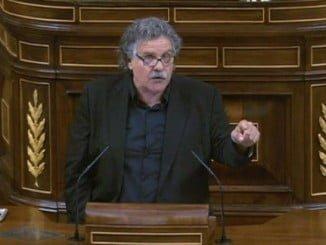 Joan Tardà fue muy claro en la investidura en cuanto a lo que buscan los separatistas.