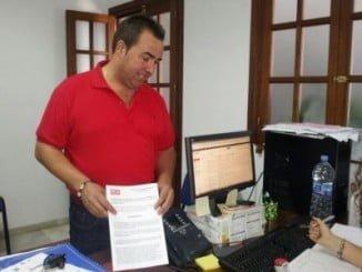 José Manuel Zamora con las mociones que solicitan bonificaciones y exenciones