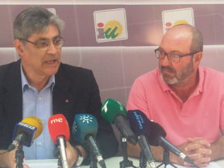 José Luis Pérez Tapias y Pedro Jiménez