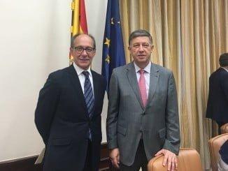 Los diputados por Huelva, Carmelo Romero y José Juan Díaz Trillo, ocuparán dos puestos relevantes  en la Comisión del Cambio Climático.