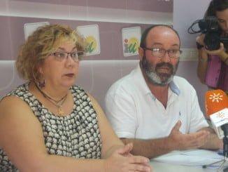Pedro Jiménez y Mónica Rossi