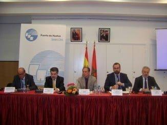 Presentación de HuelvaPort en Casablanca