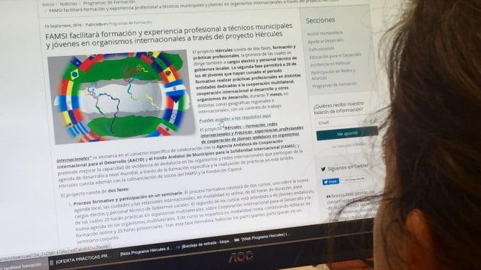 Tiene como objetivo mejorar la capacidad de incidencia de Andalucía