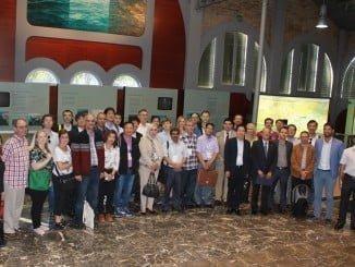 La visita se enmarca en las actividades de Enagás y Repsol con motivo de la International Gas Union