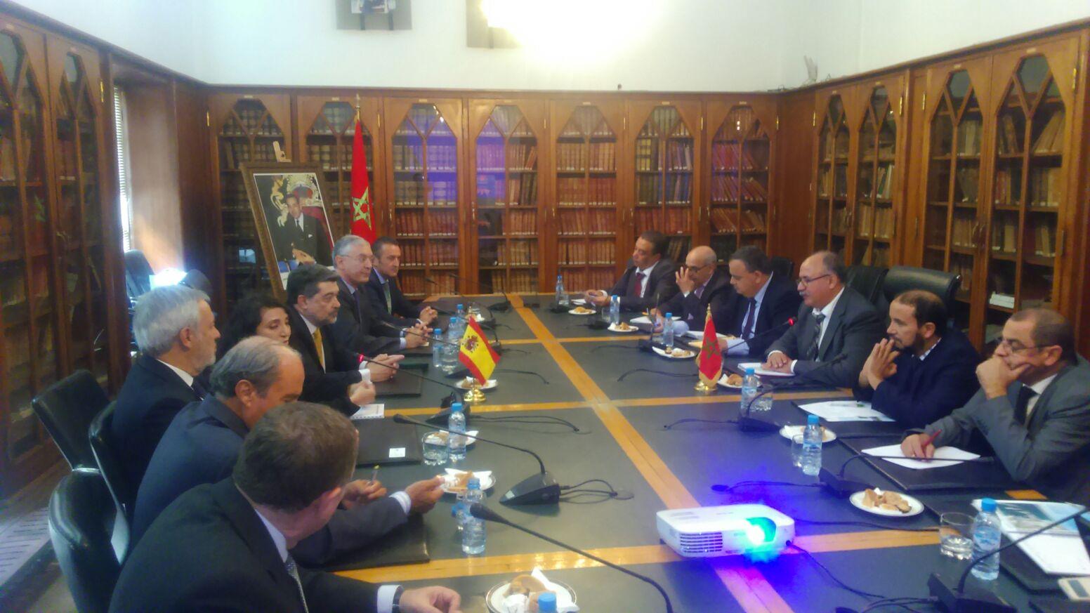 Reunión con el Ministerio