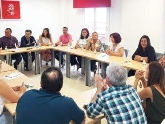 Reunión de la Comisión Ejecutiva Provincial del PSOE