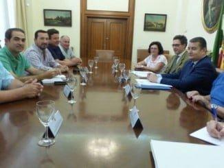 El delegado del Gobierno ha recibido a una representación de Feragua